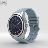 LG Watch Urbane 2nd Edition Opal Blue 3D Model
