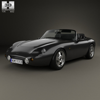 TVR Griffith 1991 3D Model