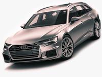 Audi A6 Avant 2019 s-line 3D Model