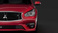 Mitsubishi Proudia S 2018 3D Model