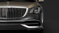 Mercedes Maybach S 650 Pullman VV222 2019 3D Model