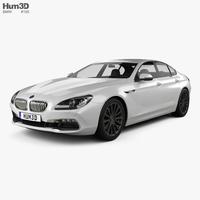 BMW 6 Series Gran Coupe (F06) 2015 3D Model