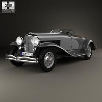 Duesenberg SSJ Roadster 1935 3D Model