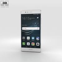 Huawei P9 Mystic Silver 3D Model