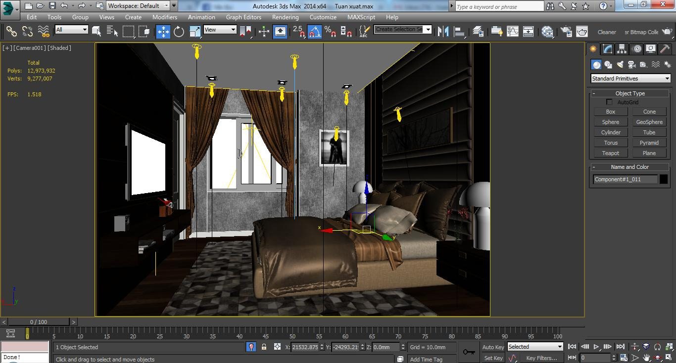 Cutaway Apartment Full Furnitures Modern Design: CUTAWAY MODERN APARTMENT FULL FURNITURES 3D Model