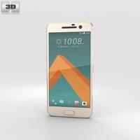 HTC 10 Topaz Gold 3D Model