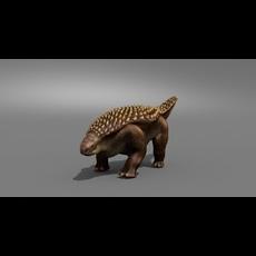 Nodosaur Jurassic Dinosaur 3D Model