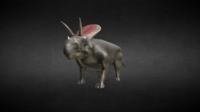 Torozaur Jurassic Dinosaur 3D Model