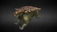 Edmontonia Jurassic Dinosaur 3D Model