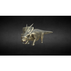 Achelozaur Jurassic Dinosaur 3D Model