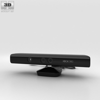 Microsoft Kinect for Xbox 360 3D Model