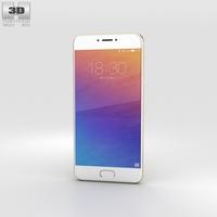 Meizu Pro 6 Gold 3D Model