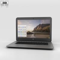HP Chromebook 14 G4 3D Model