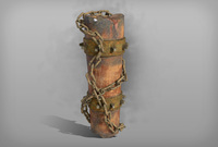 Totem with chain 3D Model