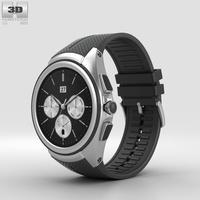 LG Watch Urbane 2nd Edition Space Black 3D Model
