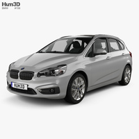 BMW 2 Series (F45) Active Tourer Electrical 2016 3D Model