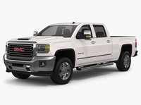 2018 GMC Sierra 2500HD 3D Model