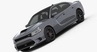 Dodge Charger SRT 392 2015 3D Model