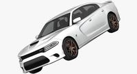 Dodge Charger SRT Hellcat 2015 3D Model