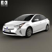 Toyota Prius Iconic 2016 3D Model