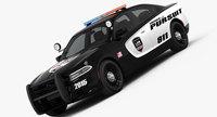 Dodge Charger Pursuit 2015 3D Model