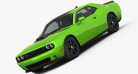 Dodge Challenger R/T Shaker 2015 3D Model