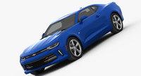 Chevrolet Camaro RS 2016 3D Model