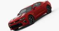 Chevrolet Camaro SS 2016 3D Model