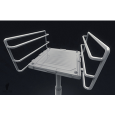 3D Sci-Fi Elevator Platform 3D Model