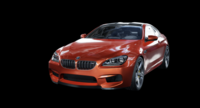 BMW M6 F13 with detailed inerior and engine 3D Model