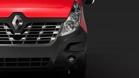 Renault Master L4H3 MiniBus 2018 3D Model