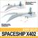 Spaceship X402 Fighter 3D Model