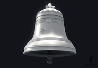 Decorative Bell 3D Model