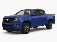 Chevrolet Colorado Z71 2018 3D Model