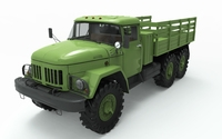 Zil 131 3D Model