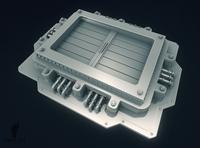 Sci-Fi Garbage Chute 3D Model
