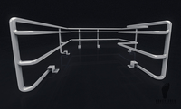 Sci-Fi Modular Railing Set 3D Model