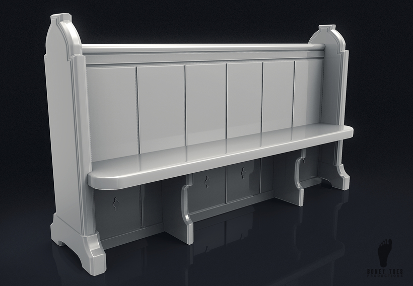 Amazing Wooden Church Pew Bench 3D Model Andrewgaddart Wooden Chair Designs For Living Room Andrewgaddartcom
