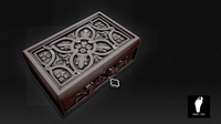 Ornamental Jewelry Box 3D Model