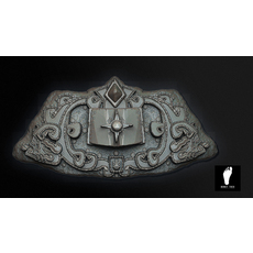Aztec Stone of Eternal Life 3D Model