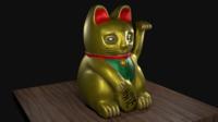 Lucky Cat 3D Model