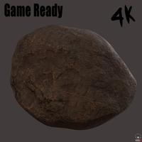 Rock01 3D Model