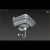 15 02 56 363 3d bathroom sink wireframe 4