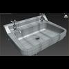 15 02 58 142 3d restroom sink wireframe 4