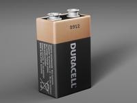 Battery Duracell 3D Model