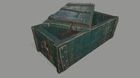 0ld chest 3D Model