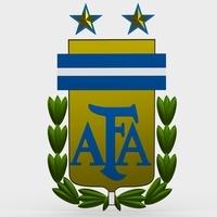 argentina logo 3D Model