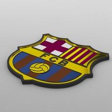 barcelona logo 3D Model