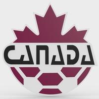 canada logo 3D Model