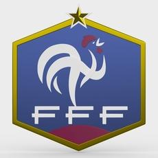 france logo 3D Model